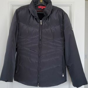 Anne Klein Puffer Jacket Size L in black